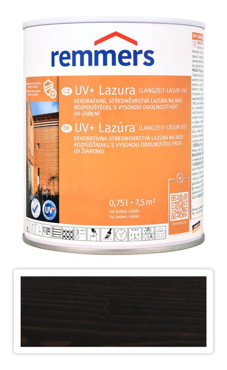 REMMERS UV+ Lazura - dekorativní lazura na dřevo 0.75 l Eben