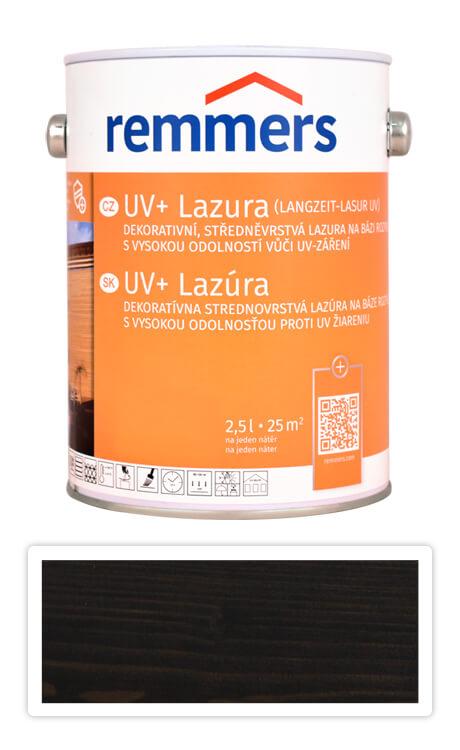 REMMERS UV+ Lazura - dekorativní lazura na dřevo 2.5 l Eben