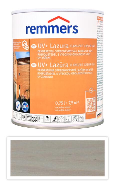 REMMERS UV+ Lazura - dekorativní lazura na dřevo 0.75 l Stříbrnošedá