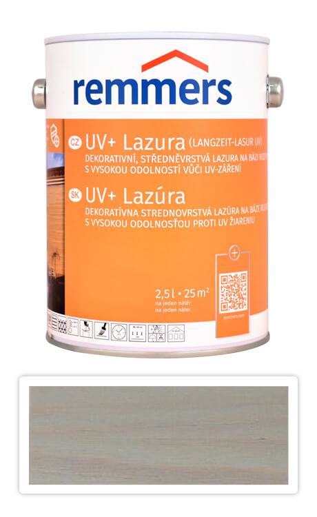 REMMERS UV+ Lazura - dekorativní lazura na dřevo 2.5 l Stříbrnošedá