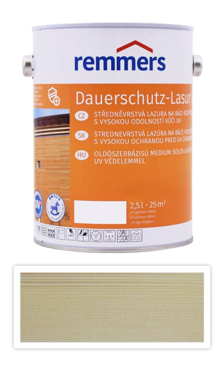 Langzeit Lasur UV Remmers - Dekorativní lazura 2,5l Bezbarvá