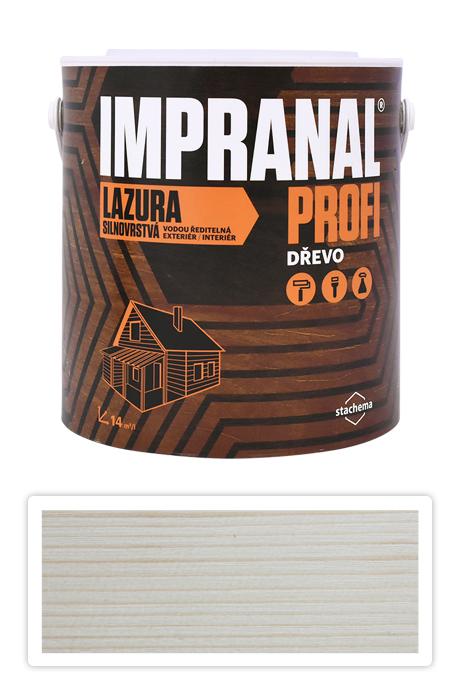 Lazura Impranal Profi Silnovrstvá 2.5l Bezbarvá s UV filtrem