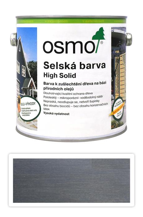 Selská barva OSMO 2.5l Antracitově šedá 2716