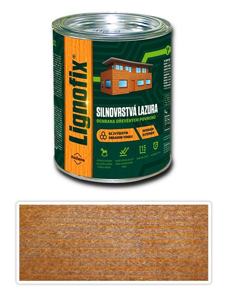 Lignofix silnovrstvá lazura 0.75l zlatý dub