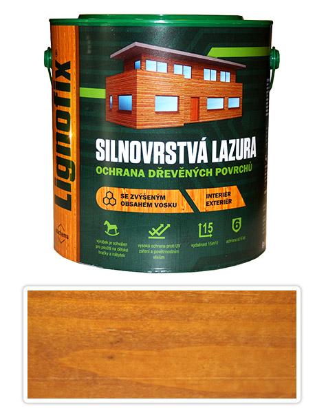 Lignofix silnovrstvá lazura 2,5l Dub