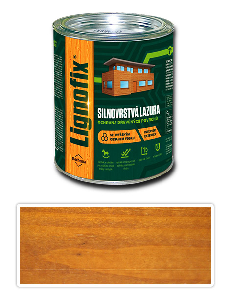 Lignofix silnovrstvá lazura 0.75l dub