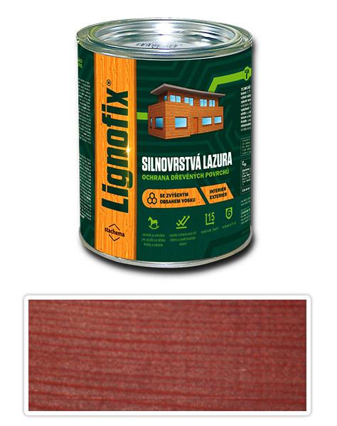 Lignofix silnovrstvá lazura 0.75l mahagon