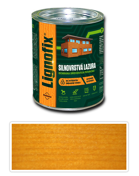Lignofix silnovrstvá lazura 0.75l pinie