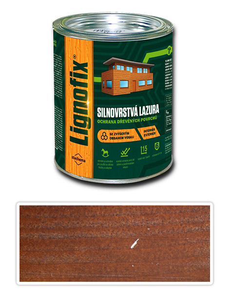 Lignofix silnovrstvá lazura 0.75l ořech