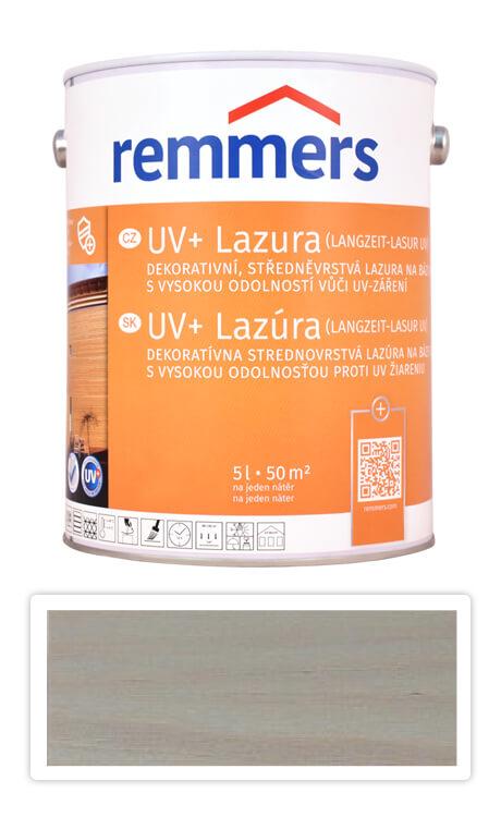 REMMERS UV+ Lazura - dekorativní lazura na dřevo 5 l Stříbrnošedá