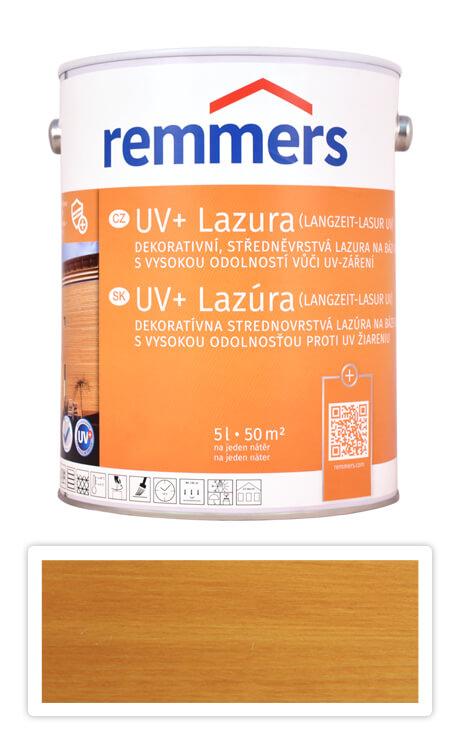 REMMERS UV+ Lazura - dekorativní lazura na dřevo 5 l Dub světlý