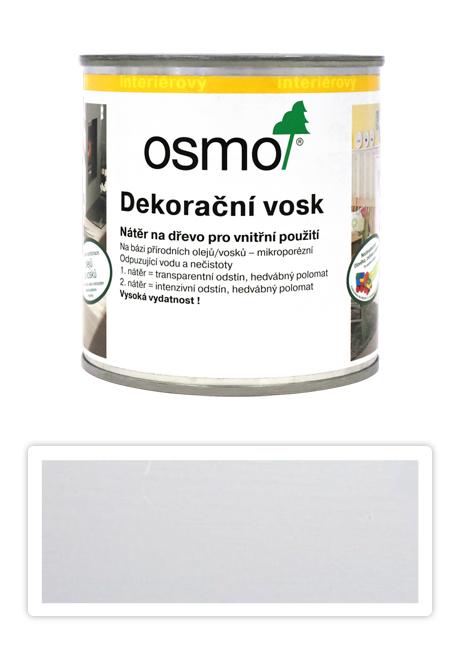 OSMO Dekorační vosk intenzivní odstíny 0.375 l Bílý mat 3186