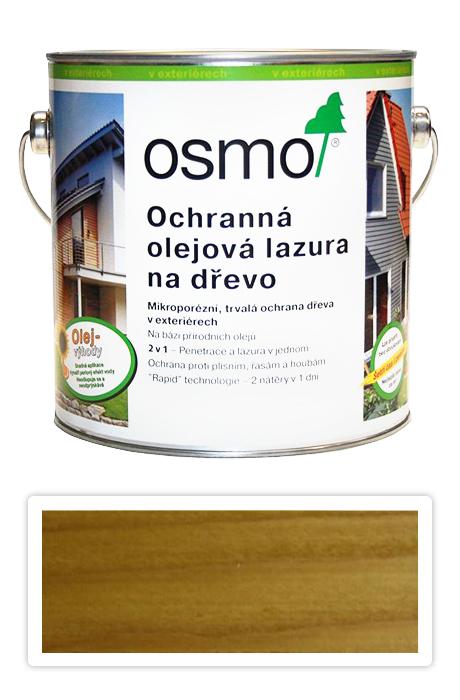 Ochranná olejová lazura OSMO 2,5l dub světlý 732