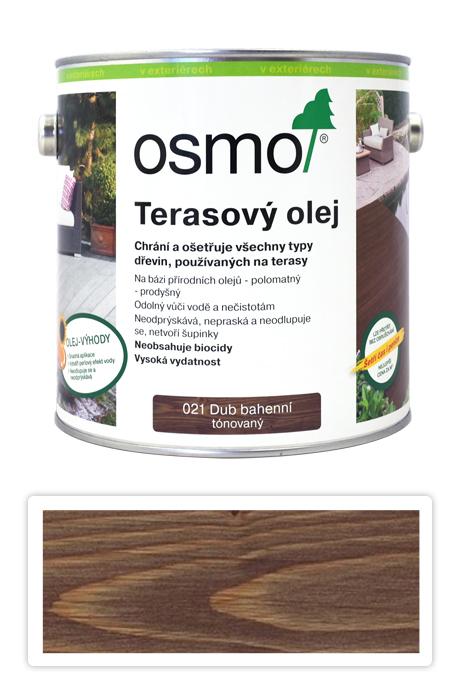 Osmo terasový olej 2,5L bahenní dub