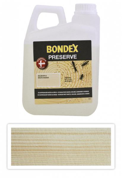 BONDEX Preserve - impregnace dřeva pro exteriéry 2 l Bezbarvá
