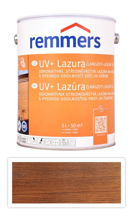 REMMERS UV+ Lazura - dekorativní lazura na dřevo 5 l Ořech