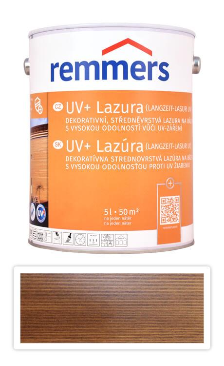 REMMERS UV+ Lazura - dekorativní lazura na dřevo 5 l Palisandr