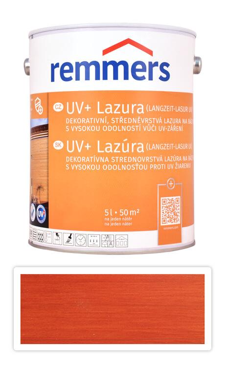 REMMERS UV+ Lazura - dekorativní lazura na dřevo 5 l Mahagon