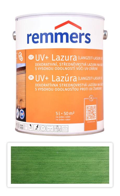 REMMERS UV+ Lazura - dekorativní lazura na dřevo 5 l Jedlově zelená