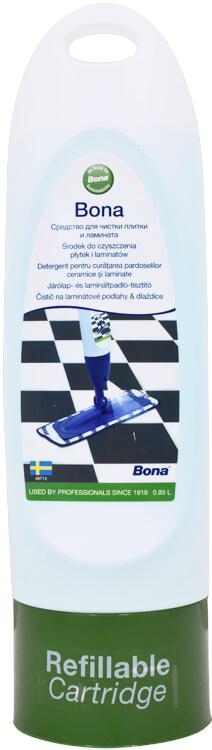 BONA Čistič na laminátové podlahy a dlaždice - náhradní náplň do Spray mopu 0.85 l