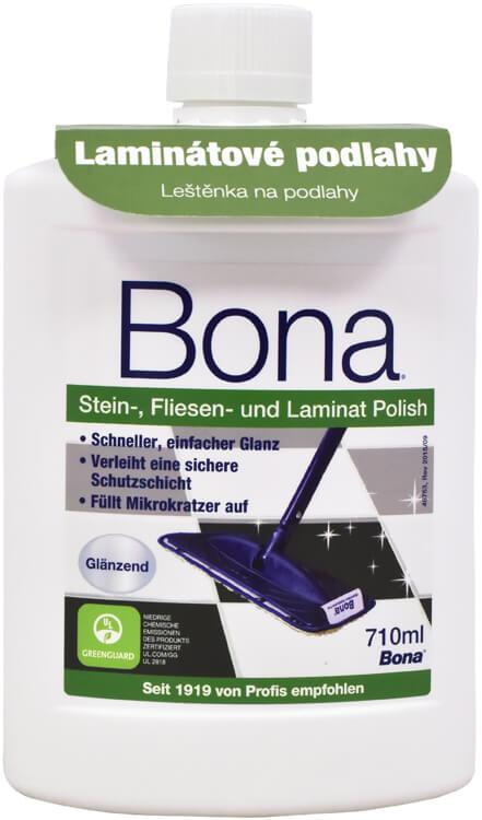 BONA Laminat Polish - leštěnka na laminátové podlahy a dlaždice 0.71 l lesk