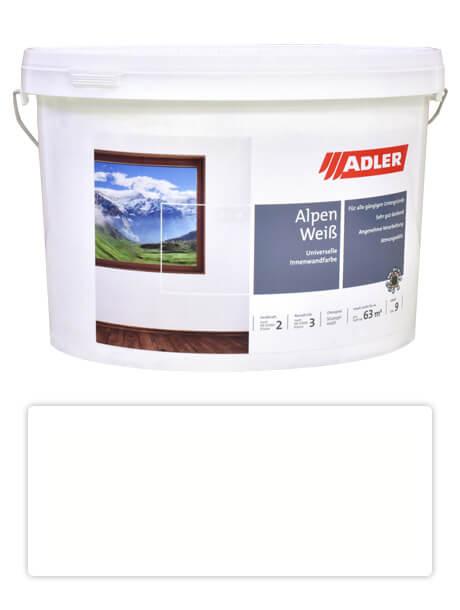 ADLER Aviva Alpen Weiss - univerzální malířská barva na stěny v interiéru 9 l Bílá