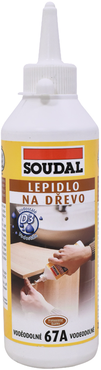 SOUDAL Lepidlo na dřevo 67A vodostálé 250g