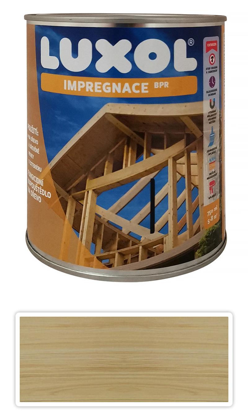 LUXOL Impregnace na dřevo v exteriéru 0.75 l Bezbarvá