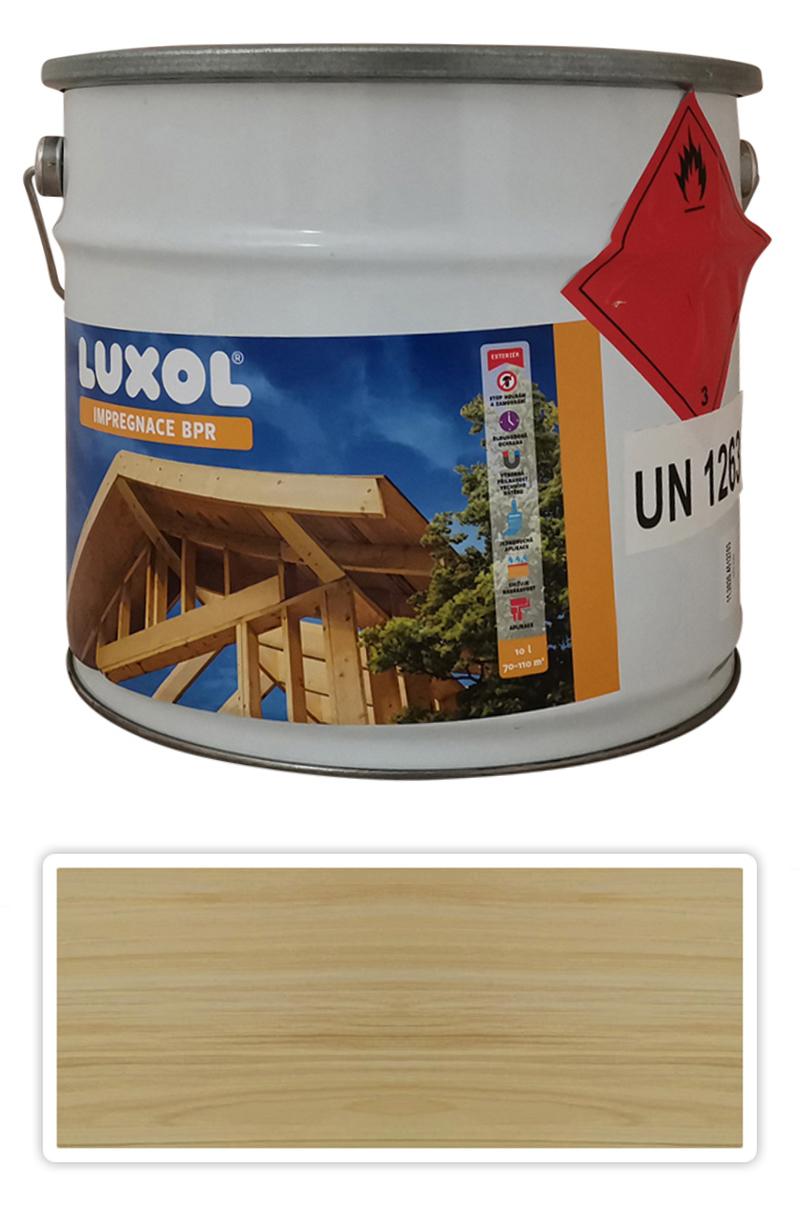 LUXOL Impregnace na dřevo v exteriéru 10 l Bezbarvá